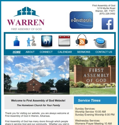 Warren First Assembly of God