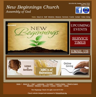 New Beginnings Church Assembly of God