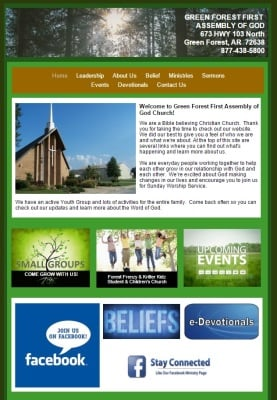 GREEN FOREST ASSEMBLY OF GOD