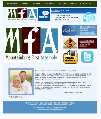 Mountainburg First Assembly